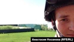 Колишній красноярський студент Валентин тепер – боєць полку «Азов»