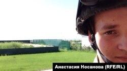"""Бывший красноярский студент Валентин теперь боец добровольческого батальона """"Азов"""" на Украине"""