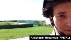 """""""Азов"""" бастальонындағы ресейлік студент Валентин."""