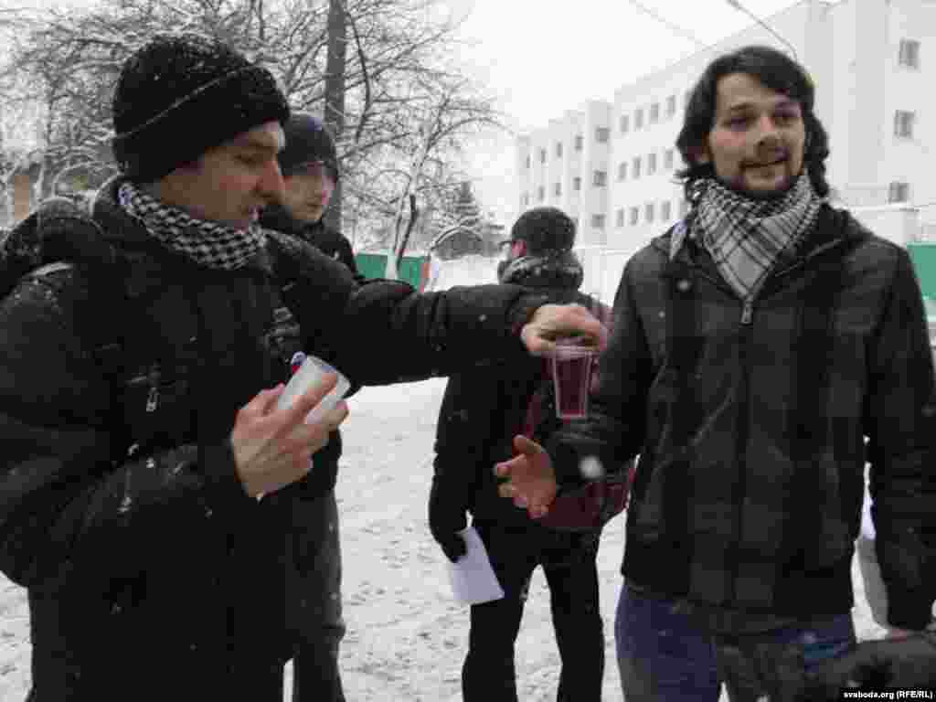 Belarusian authorities have started to release people detained during a postelection demonstration on December 19.