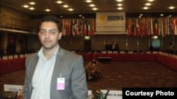 Вахид Мемед, активист за човекови права и потпретседател на Сојузот на балкански Египќани.
