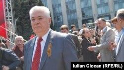 Лидер молдавской Партии коммунистов Владимир Воронин, Кишинев, 1 мая 2011