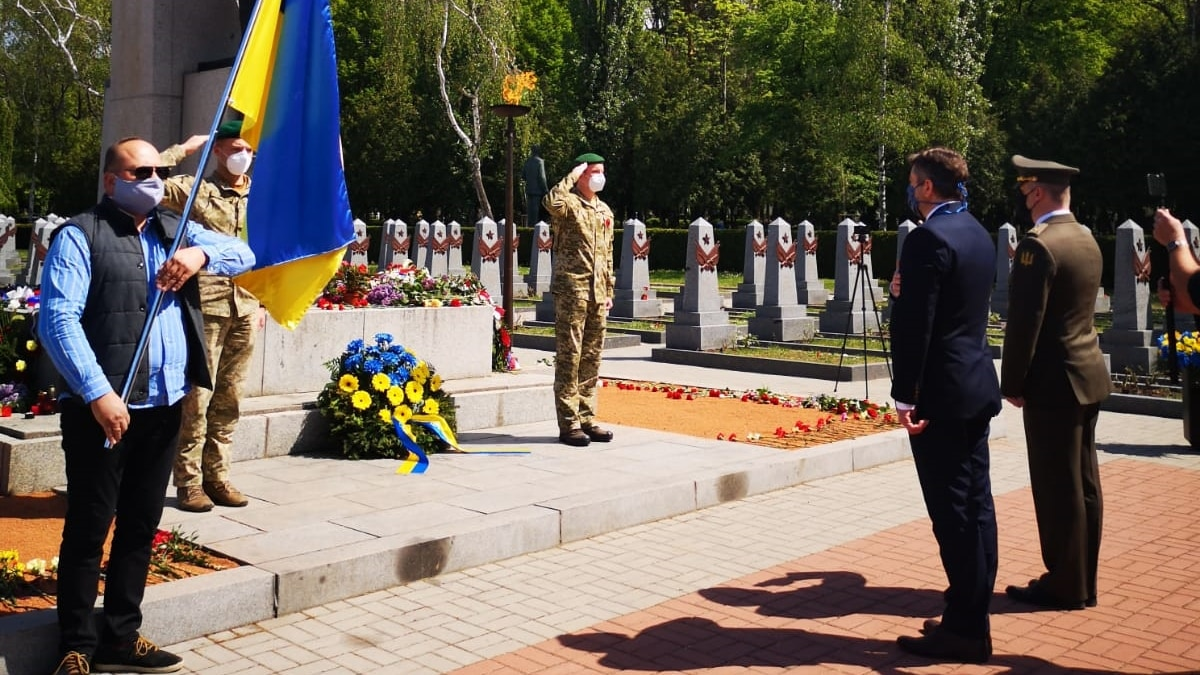 Украинцы в Чехии отметили День памяти и примирения