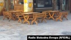 Илустрација - Затворен ресторан во Старата скопска чаршија