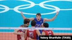 Мужская сборная России по волейболу завоевала золото на Олимпиаде-2012