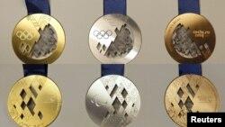 Медали зимней Олимпиады-2014 в Сочи