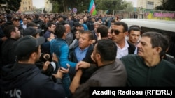 Protesta e sotme në Baku, Azerbajxhan