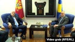 Duško Marković i Ramuš Haradinaj u Prištini