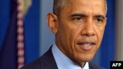 Președintele Barack Obama la conferința de presă de la Casa Albă