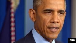 Президент США Барак Обама. Вашингтон, 19 мая 2014 года.