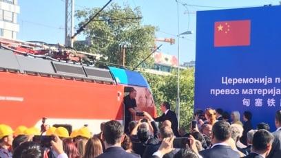 Teretni voz iz Kine stigao u Srbiju