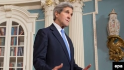 U.S. Secretary of State John Kerry will travel to Kyiv to express U.S. support for the government as it fights pro-Russian separatists in the east.