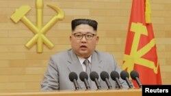 Лідэр КНДР Кім Чэн Ын