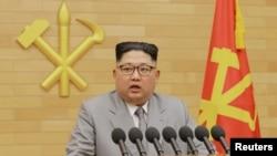 Lideri verikorean, Kim Jong Un.