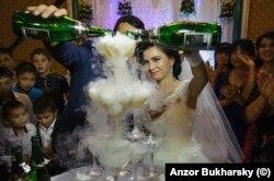 A lavish wedding in 2016