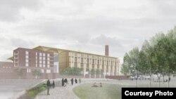 Проект исламского центра в Ньюхэме