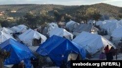 اردوگاه پناهجویان در لسبوس یونان