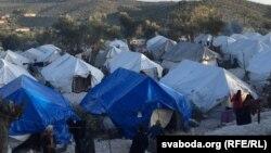 Табір біженців на грецькому острові Лесбос