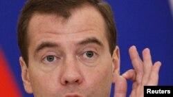 Президент Дмитрий Медведев.