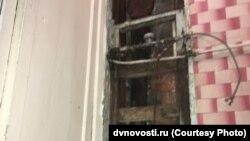 Жилой дом по улице Руднева в Хабаровске