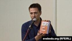 Журналіст «Свабоды» Аляксей Знаткевіч прэзэнтуе дыск «Саўка ды Грышка. 100 песьняў»