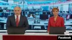 Вечерний новостной выпуск «Мтавари архи»