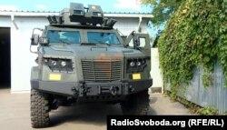 Бойова броньована машина українського виробництва «Козак-2М»