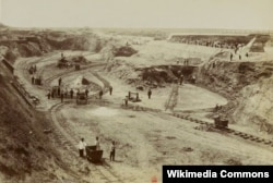 Залізорудний кар'єр, Кривий Ріг 1899 рік