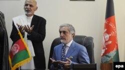 Президент Ашраф Гани жана бийликтин башкы аткаруучусу Абдулла Абдулла