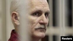 Белорусский оппозиционер Алесь Беляцкий