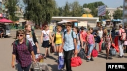 Ukraine -- 340 children from the front-line cities of the Donetsk region went on vacation to health camps