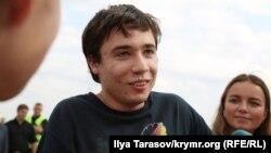 Павел Гриб в аэропорту Борисполь. 7 сентября 2019 года