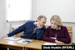 Алег Агееў і Сьвятлана Калінкіна