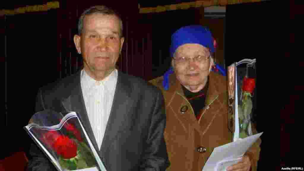 Татар хәрәкәте активистлары Сания һәм Вәгыйз Садыковлар