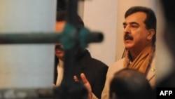 Премьер-министр Пакистана Юсуф Раза Гилани во время недавней церемонии памяти экс-премьера Беназир Бхутто