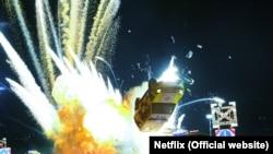 Кадр фильма-боевика «Призрачная шестерка» (6 Underground).