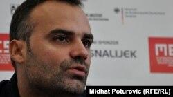 Dino Mustafić: Duboko vjerujem da će kultura na ovim prostorima biti jedan integrirajući faktor za mlade ljude. Foto: Midhat Poturović