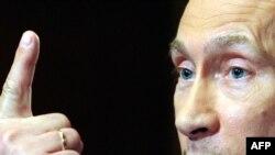 """Премьер-министр России Владимир Путин едва ли обратил внимание на творчество активистов """"Международной амнистии""""."""