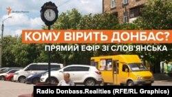 Заставка до відео передачі проекту Радіо Свобода «Донбас.Реалії»