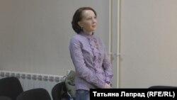 Оксана Походун слушает свой приговор