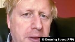 Britanski premijer Boris Džonson, 27 mart 2020.