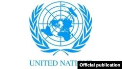 Эмблема Организации Объединенных Наций.