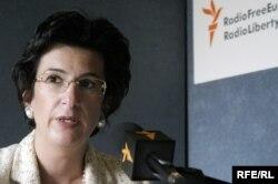 Нино Бурджанадзе на Радио Свобода. 2007 год