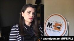 Руководитель Медиа-центра Седа Мурадян