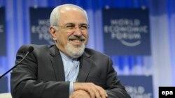 محمد جواد ظریف، وزیر خارجه ایران در اجلاس داووس در سوئیس