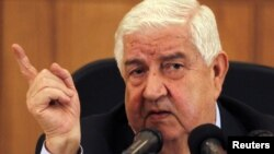 Министр иностранных дел Сирии Муаллем побывал в Москве