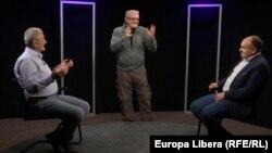 In studioul Europei Libere