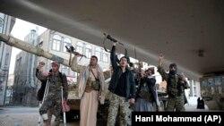 ارشیف، په یمن کې د حوثي ځواکونو یو انځور