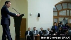 عباس عراقچی معاون وزیر خارجه ایران در نخستین سالگرد اجرای برجام