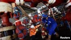 Naftna platforma, ilustrativna fotografija
